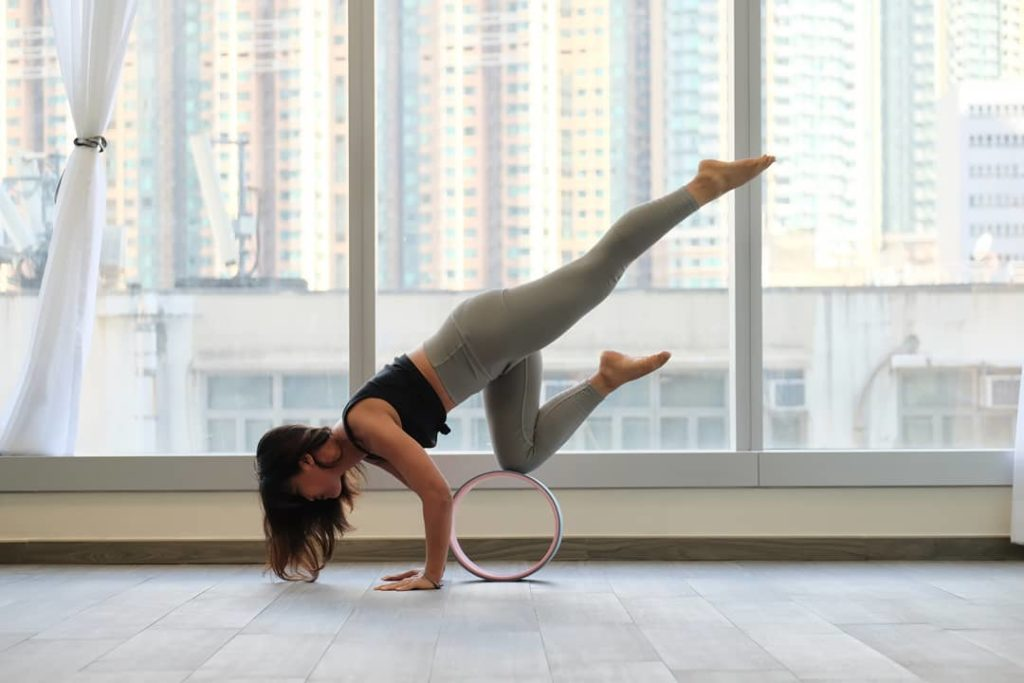 yoga wheel